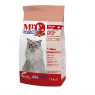Forza 10 Cat MR Fruit Rosso Senior 1,5 kг/Полнорационный сухой корм для пожилых кошек из рыбы 1,5 кг